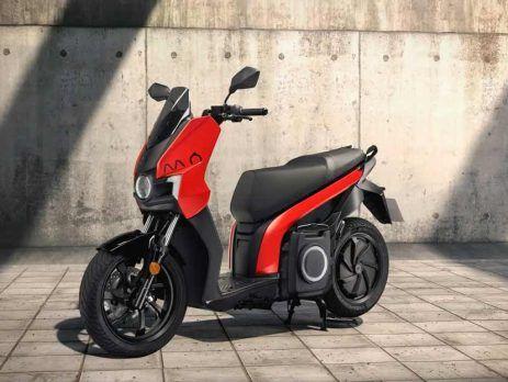 Alquiler moto eléctrica Seat Mo escooter 125